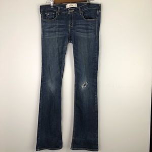 Hollister Boot Cut Jeans Size: 28